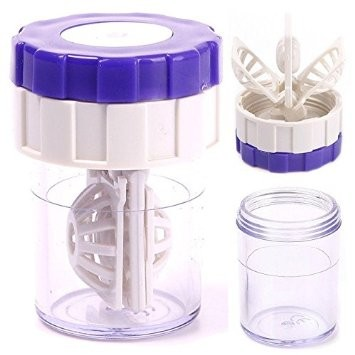 Contact Lens Cleaner Container Lens Case