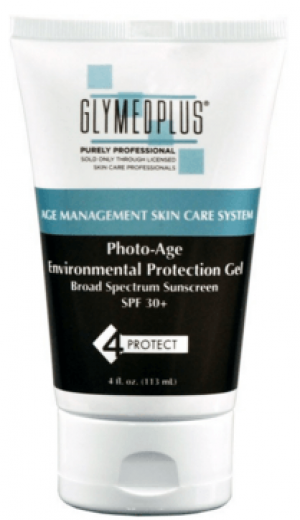 Glymed Plus Photo-Age Environmental Protection Gel SPF 30 4 fl. oz.