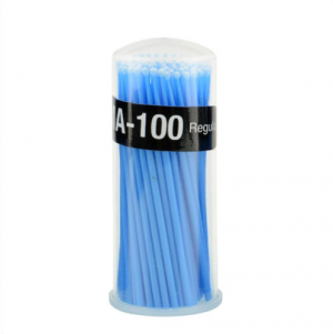 Disposable Applicator Micro Brush Tips Regular Blue MA-100