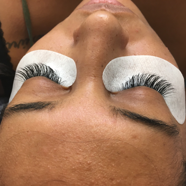 Eyelash Extensions Microblading Before and After